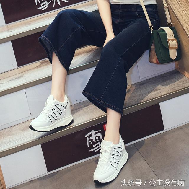 内增高女鞋