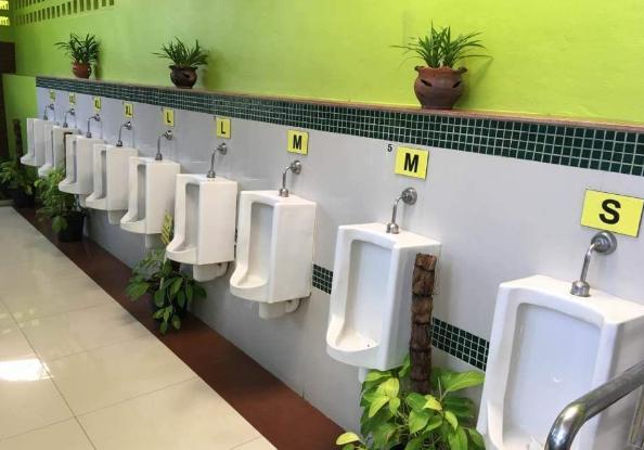男生向前走:关于男厕的空间设计