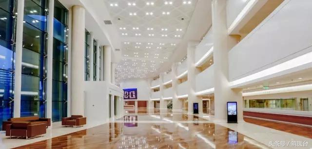 上海松江第一人民医院大堂图片_图片_红动手机版
