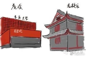 重庆大学虎溪校区大门