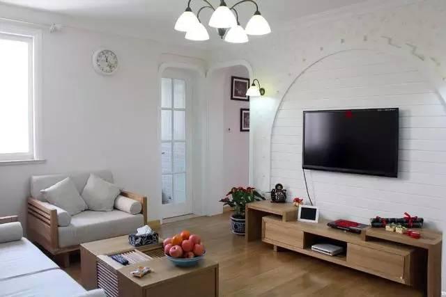 77平米二室一厅简装图