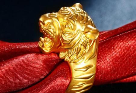 中国黄金戒指男款