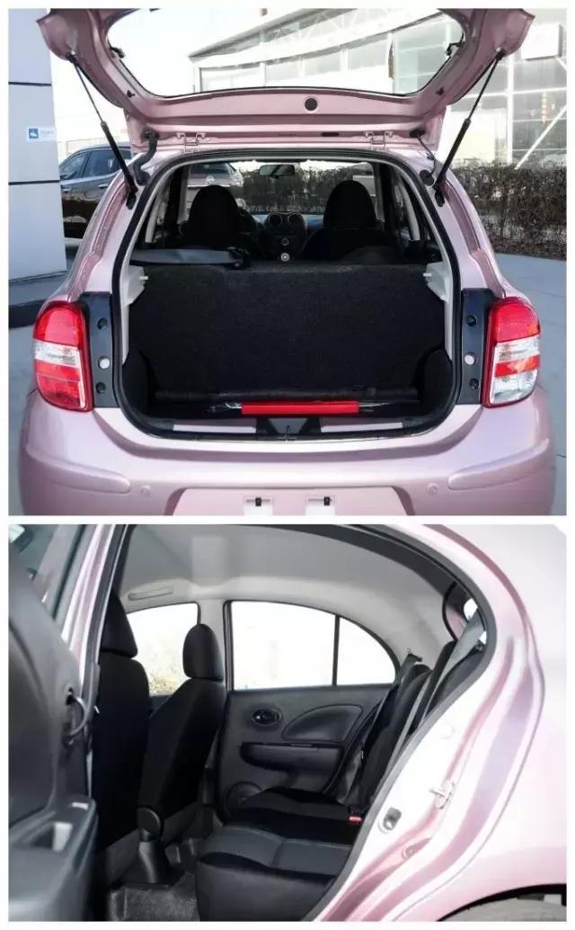 东风日产小型车两厢车
