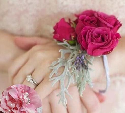 新娘手腕花如何制作和佩戴?