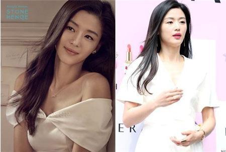 全智贤怀孕14周 仍不忘赚奶现身巴黎街头粉拍广告