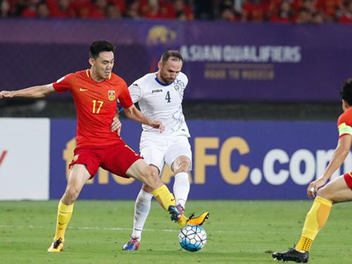 国足活过来了!中国1-0乌兹别克斯坦