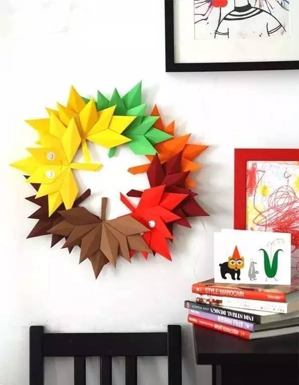各种树叶折法集合,喜欢的收藏了!