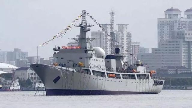 电子侦察船图片