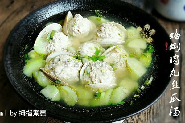 教你做一道鲜香美味的蛤蜊丝瓜汤,看着是不是很有食欲