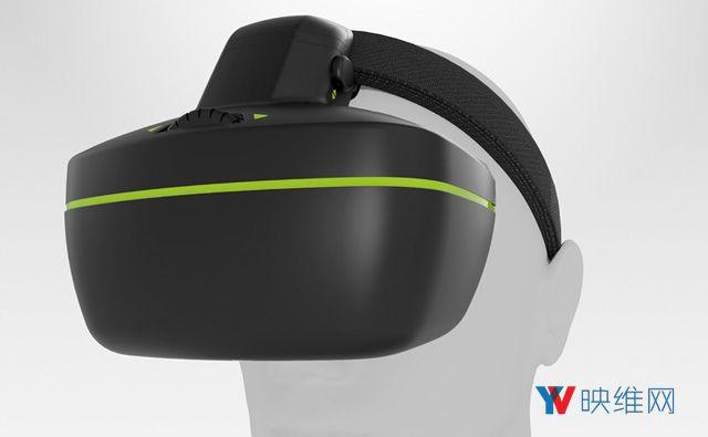 一物两用,这款AR头显把眼动追踪直接集成至OLED显示屏