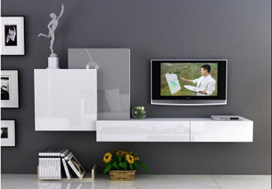 新房装修电视墙上打吊柜,效果一点也不压抑,真心太实用_腾讯网