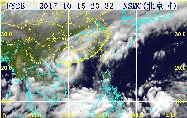 中国卫星云图