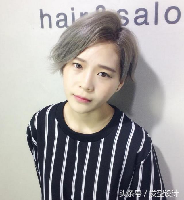 最近流行短发发型女