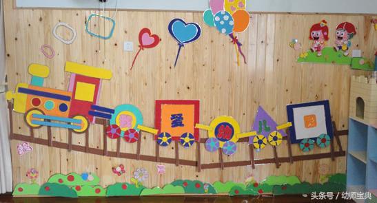 秋季开学环创:80张主题墙、吊饰、门窗走廊布置图... _手机搜狐网
