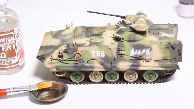 90式步兵战车,祖国军工强大,从军事模型开始
