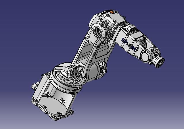 工业六轴机器人本体各轴运动示意图_工业机器人行... -机器人在线