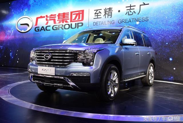 国产七座SUV:广汽传祺GS8价格太厚道