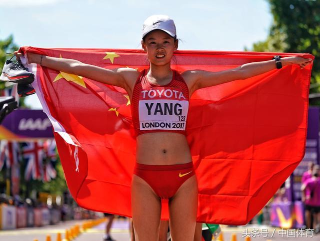 世锦赛女子20公里竞走杨家玉夺冠_新浪图片