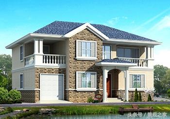 农村二层半别墅图片大全,二层半别墅设计图推荐