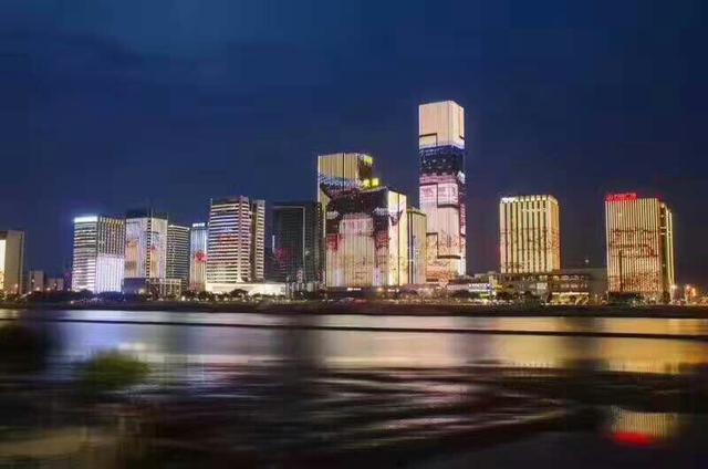 福州人都爱的江滨夜景