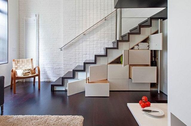 40平小复式楼装修图,打造温馨素雅之家-土拨鼠装修经验