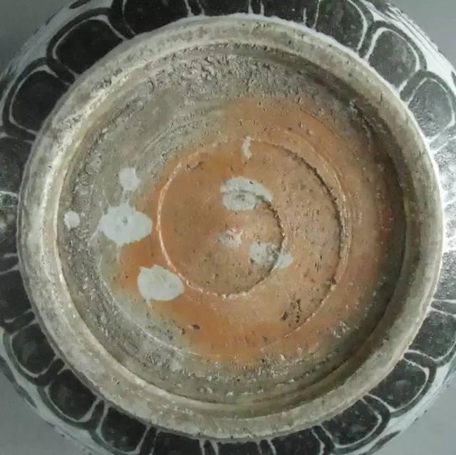 瓷器内足底注浆线图片