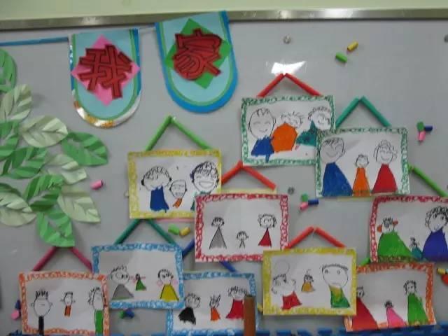 幼儿墙面布置大班教室