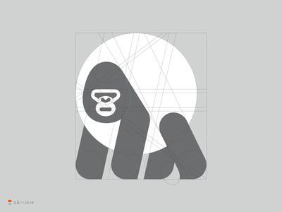 字母logo设计含字母lg