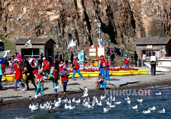 青海湖美景图片