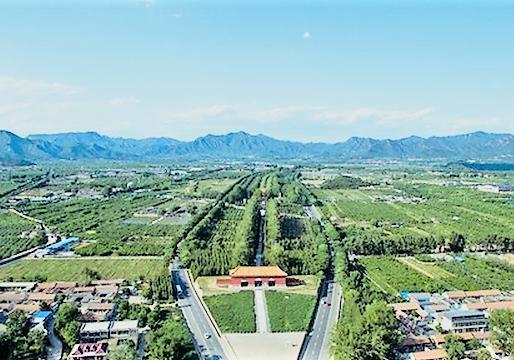 北京明十三陵图片