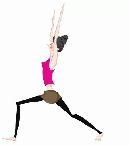 瘦肚子和腰的简单动作