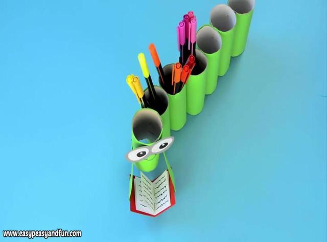 卷纸筒手工制作动物