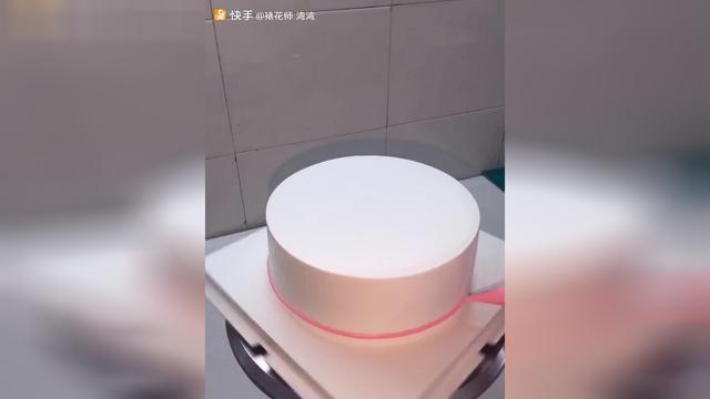 自己做的蛋糕