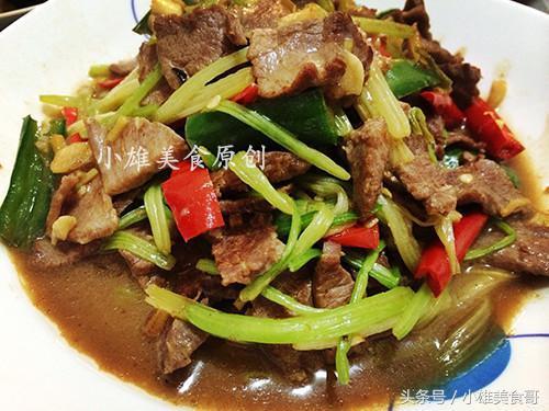 【步骤图】牛肉末炒芹菜的做法_牛肉末炒芹菜的做法步... _下厨房