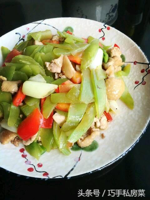 莴笋炒鸡肉菜谱_莴笋炒鸡肉的做法 - 好豆菜谱大全