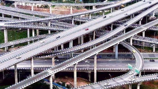 让高德地图绝望的立交桥,重庆黄桷湾立交桥,复杂之... _腾讯网