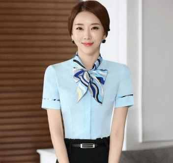 酒店职业装女装衬衫