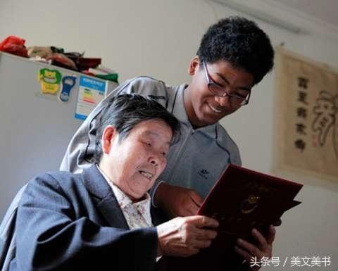 老人捡到黑人弃婴,收养14年视如己出,男孩坚称自己是中国人
