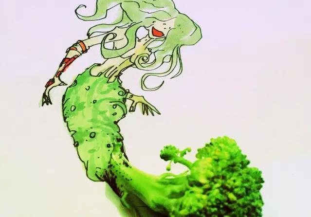 蔬菜水果作品图片大全
