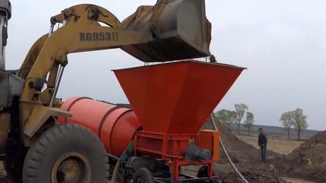 洗沙排污系統