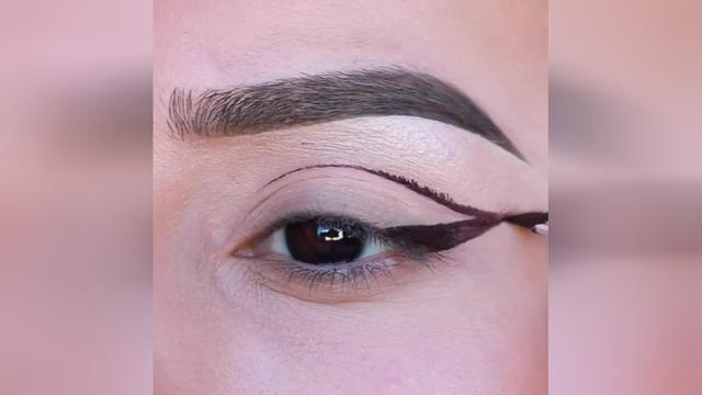 教你用口红画眼影, 新手也可以学会! 眼妆教