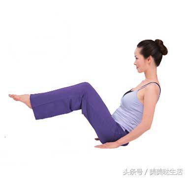 瑜伽瘦腰双人的动作