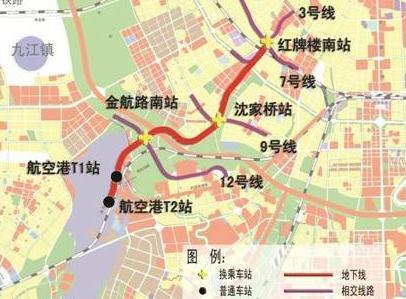 成都地铁27号线站点图