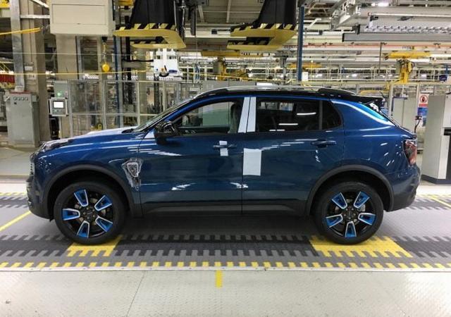 吉利沃尔沃合资SUV领克01上市:15.88万起_快科技