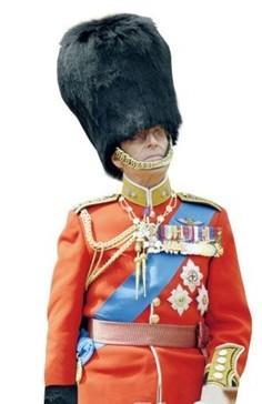 各国高级军官军服比拼,本子搞笑燕尾服