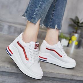 2017内增高女鞋棉鞋