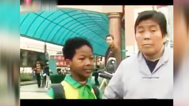 中国老太捡到遗弃黑人小孩,15年辛苦养育,孩子一番话感动流泪