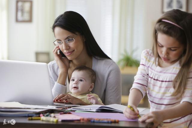 全职妈妈的职业说明书及画像
