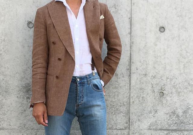 男士西装休闲+帅气搭配,这个秋冬保暖又有型