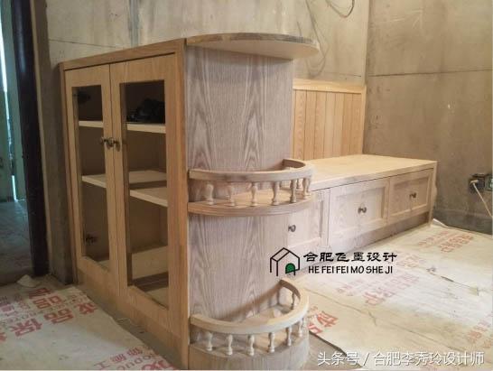 木工做免漆板床头造型
